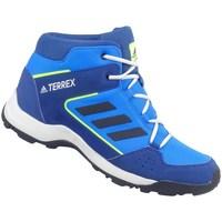 Zapatos Niños Senderismo adidas Originals Terrex Hyperhiker K Blanco, Azul