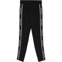 textil Mujer Pantalones de chándal Sixth June Legging  bande imprimée noir/blanc