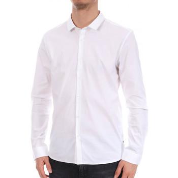 textil Hombre Camisas manga larga Teddy Smith  Blanco