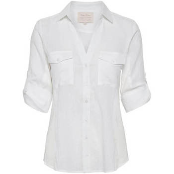 textil Mujer Camisas Part Two Cortnia BLANCO