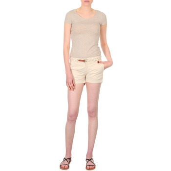 textil Mujer Shorts / Bermudas Franklin & Marshall MACQUARIE Beige