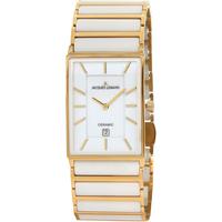 Relojes & Joyas Hombre Relojes analógicos Jacques Lemans 1-1593F, Quartz, 32mm, 5ATM Oro