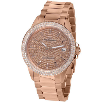 Relojes & Joyas Mujer Relojes analógicos Jacques Lemans LP-129B, Quartz, 38mm, 10ATM Oro