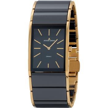 Relojes & Joyas Mujer Relojes analógicos Jacques Lemans 1-1940C, Quartz, 24mm, 5ATM Oro