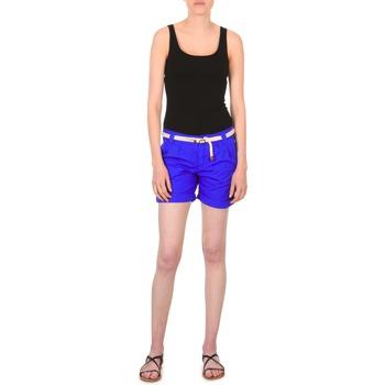 textil Mujer Shorts / Bermudas Franklin & Marshall CALOUNDRA Azul