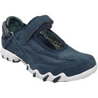 Zapatos Mujer Zapatillas bajas Allrounder by Mephisto Niro filet Terciopelo azul