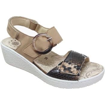 Zapatos Mujer Sandalias Mobils By Mephisto Phelicia Marrón nobuck