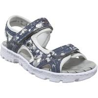 Zapatos Mujer Sandalias Rieker 67866 marino