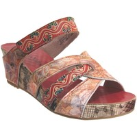 Zapatos Mujer Zuecos (Mules) Laura Vita Facdiao 14 Multi rojo