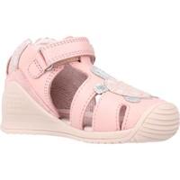 Zapatos Niña Sandalias Biomecanics 212109 Rosa