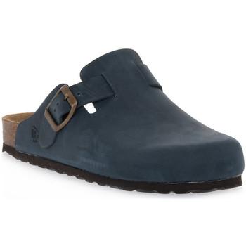 Zapatos Zuecos (Clogs) Bioline 1900 BLU INGRASSATO Blu
