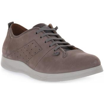 Zapatos Hombre Derbie Grunland GRIGIO MICO Grigio