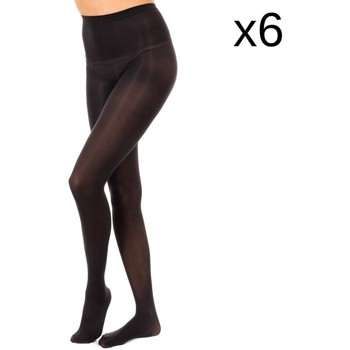 Ropa interior Mujer Medias Marie Claire Pack-6 Pantys Opac 50 Den Negro