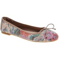Zapatos Mujer Bailarinas-manoletinas Calmoda 6141.10 CAL CAOBA