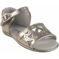 Zapatos Niña Sandalias Bubble Bobble Zapato niña  a2956 oro Plata