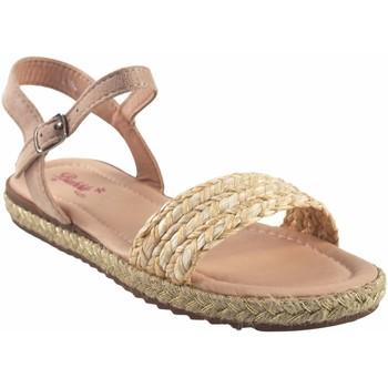 Zapatos Niña Sandalias Bubble Bobble Sandalia niña  a3048 beig Blanco