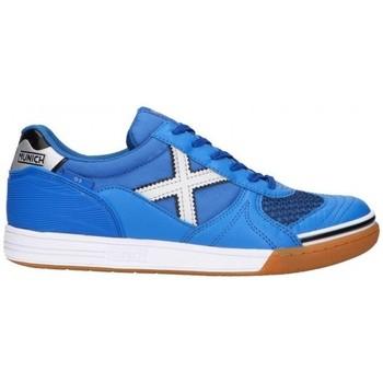 Zapatos Hombre Zapatillas bajas Munich G-3 INDOOR 3111136 Azul