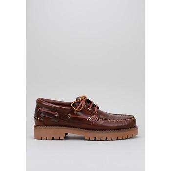 Zapatos Hombre Zapatos náuticos CallagHan 21910 Marrón