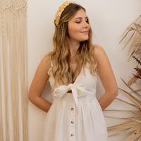 textil Mujer Vestidos largos Céleste CAMOMILLE Blanco