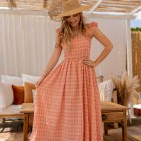 textil Mujer Vestidos largos Céleste AURORE Rosa