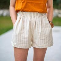 textil Mujer Shorts / Bermudas Céleste CASSIS Beige
