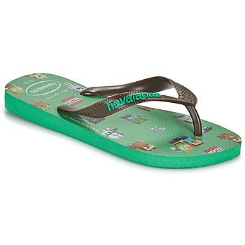 Zapatos Niño Chanclas Havaianas KIDS MINECRAFT Verde