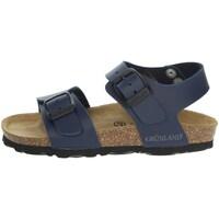 Zapatos Niños Sandalias Grunland SB1206-40 Azul
