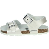 Zapatos Niña Sandalias Grunland SB0392-40 Perla