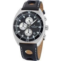 Relojes & Joyas Hombre Relojes analógicos Jacques Lemans 1-2041A, Quartz, 40mm, 10ATM Plata