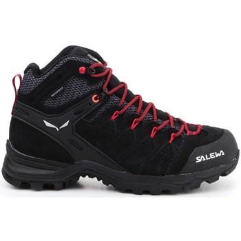 Zapatos Mujer Senderismo Salewa WS Alp Mate Mid WP Negros