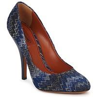 Zapatos Mujer Zapatos de tacón Missoni VM005 Azul