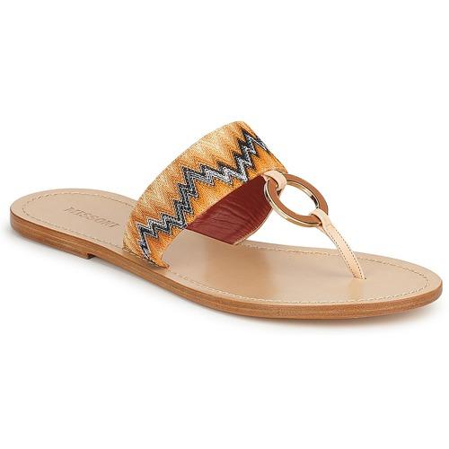 Gran descuento Zapatos especiales Missoni VM048 Naranja