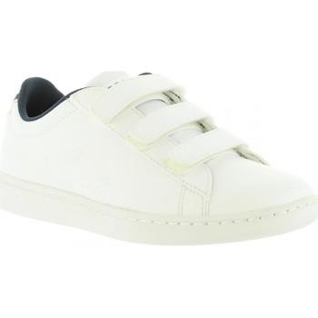 Zapatos Niños Zapatillas bajas Lacoste 31SPC0002 CARNABY EVO Blanco