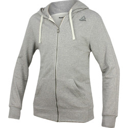 textil Hombre Sudaderas Reebok Sport Fitness El French Terry Full Zip Gris