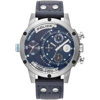 Relojes & Joyas Hombre Relojes analógicos Police PL15983JS.03, Quartz, 50mm, 5ATM Plata
