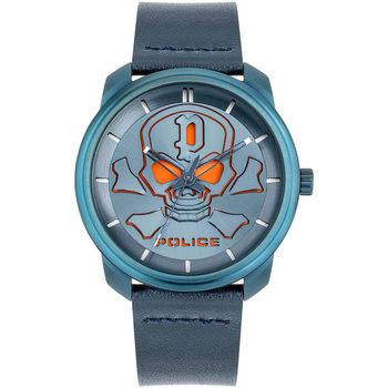 Relojes & Joyas Hombre Relojes analógicos Police PL15714JSBL.03, Quartz, 44mm, 3ATM Azul