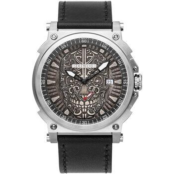 Relojes & Joyas Hombre Relojes analógicos Police PL15728JS.61, Quartz, 48mm, 3ATM Plata