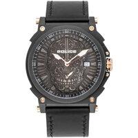 Relojes & Joyas Hombre Relojes analógicos Police PL15728JSB.02, Quartz, 48mm, 3ATM Negro