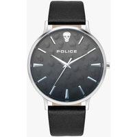 Relojes & Joyas Hombre Relojes analógicos Police PL16023JS.02, Quartz, 42mm, 3ATM Plata