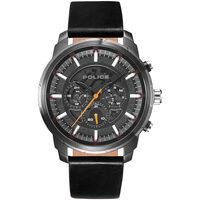 Relojes & Joyas Hombre Relojes analógicos Police PL15656JSU.02, Quartz, 50mm, 5ATM Plata