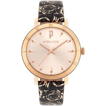 Relojes & Joyas Mujer Relojes analógicos Police PL16033MSRB.32, Quartz, 36mm, 3ATM Oro