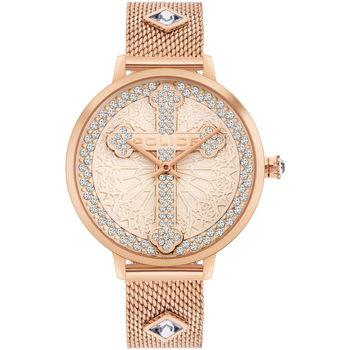 Relojes & Joyas Hombre Relojes analógicos Police PL16031MSR.32MMA, Quartz, 36mm, 3ATM Oro