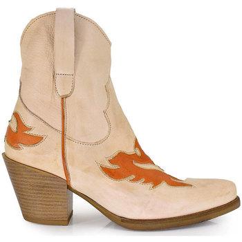 Zapatos Mujer Botines Exé Shoes BOTINES CAMPEROS FOX FREE-902 Color Blanco
