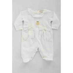textil Niña Conjuntos chándal Lalalu TBL07E blanco