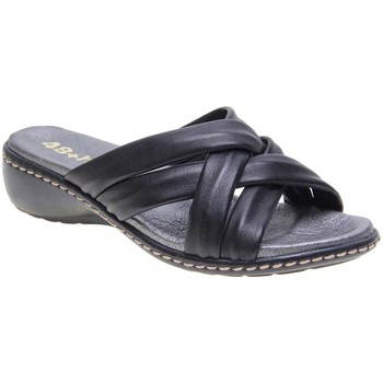 Zapatos Mujer Zuecos (Mules) 48 Horas 1102.01 48H NEGRO