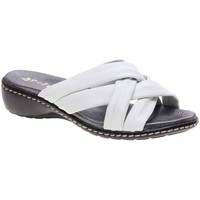 Zapatos Mujer Zuecos (Mules) 48 Horas 1102.02 48H BLANCO