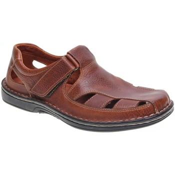 Zapatos Hombre Sandalias 48 Horas 7101.10 48H COÑAC