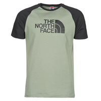 textil Hombre Camisetas manga corta The North Face S/S RAGLAN EASY TEE Verde