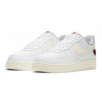 Zapatos Zapatillas bajas Nike Air Force 1 Low Valentines Day White/Sail-University Red