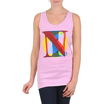 textil Mujer camisetas sin mangas Nixon PACIFIC TANK Rosa / Multicolor